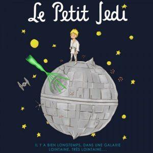 Camiseta Le Petit Jedi Azul