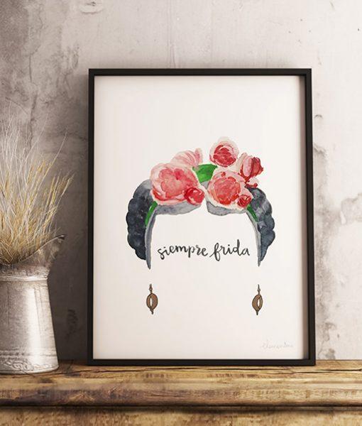 Siempre Frida Ilustración