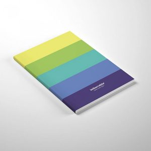 Cuaderno Paleta Colores Mint