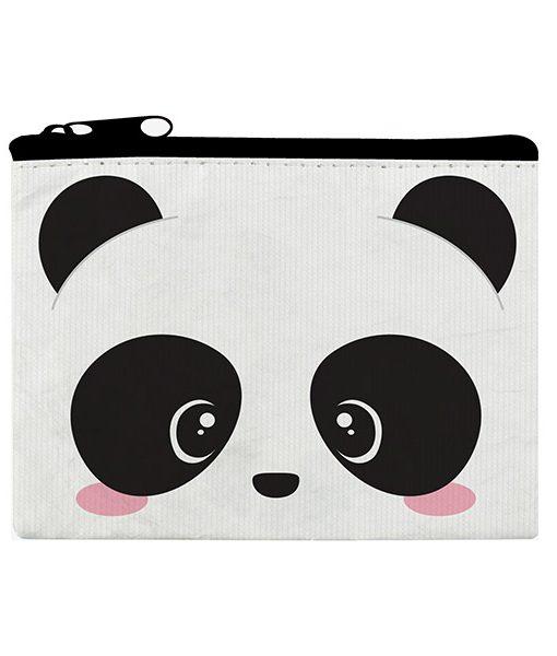 Monedero Panda Kawaii Bolsa con Cremallera