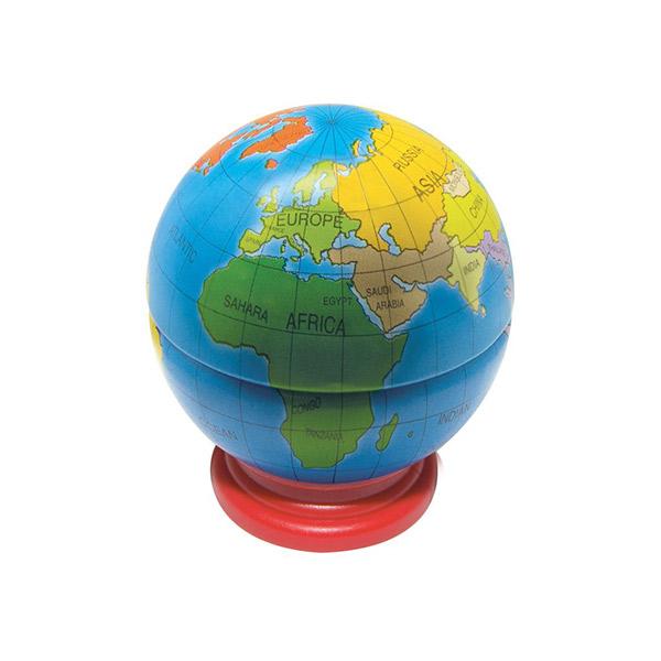 Sacapuntas bola del mundo material revolution granada - Bola del mundo decoracion ...