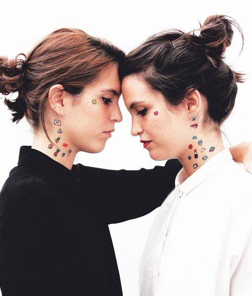 Tatuajes Básicos Coloreados
