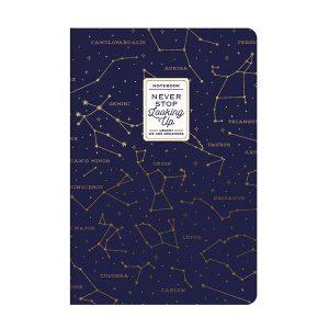 Cuaderno Constelaciones Hojas Lisas