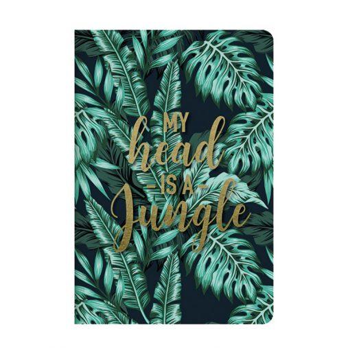 Cuaderno Jungla Hojas Lisas