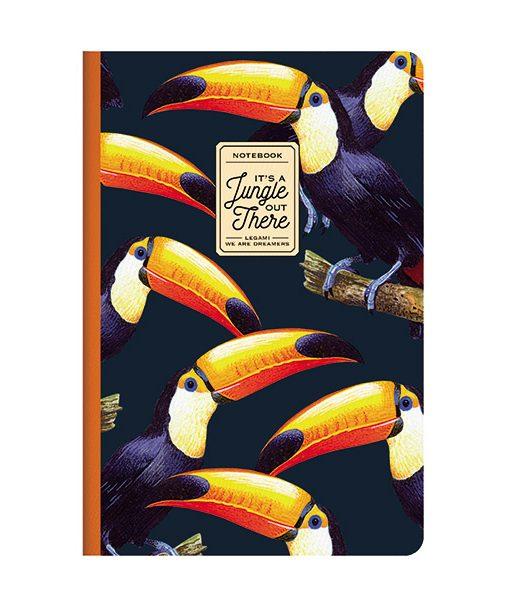 Cuaderno Tucanes PAPEL FSC