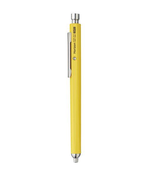 Bolígrafo Aluminio Ohto Horizon Amarillo