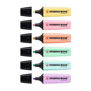 Fluorescentes Subrayadores Stabilo Colores Pastel