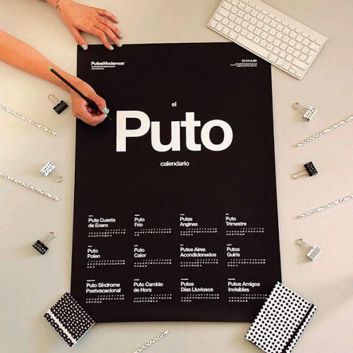 Puto Calendario 2018