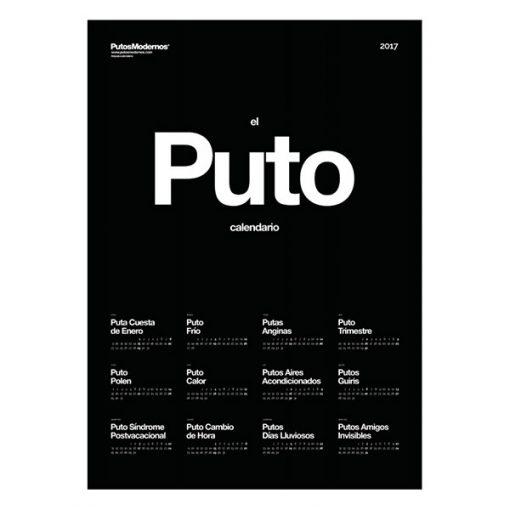 El Puto Calendario 2018