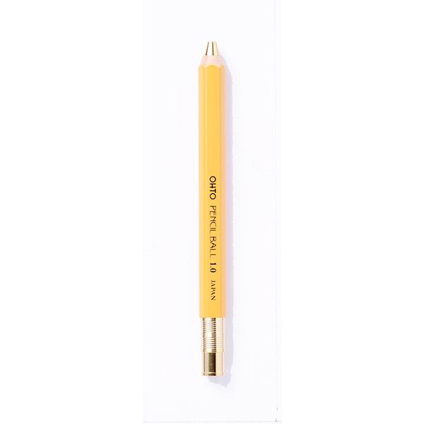 Bolígrafo de Madera Amarillo Ohto 1.0