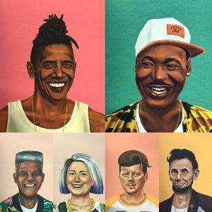 Calendario Hipstory 2017/2018 de Pared