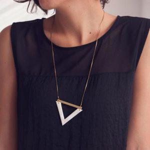Collar Geométrico Pröum de Anoësis