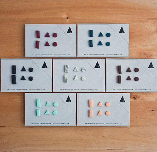 Pendientes Klee de Anoësis (Pack de tres pares pendientes)