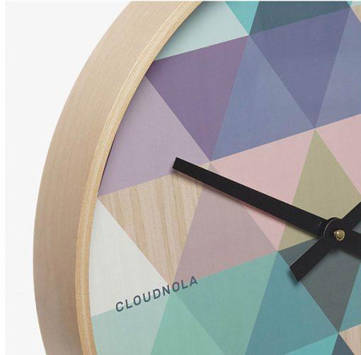 Reloj Tonic Azul Gométrico | Cloudnola