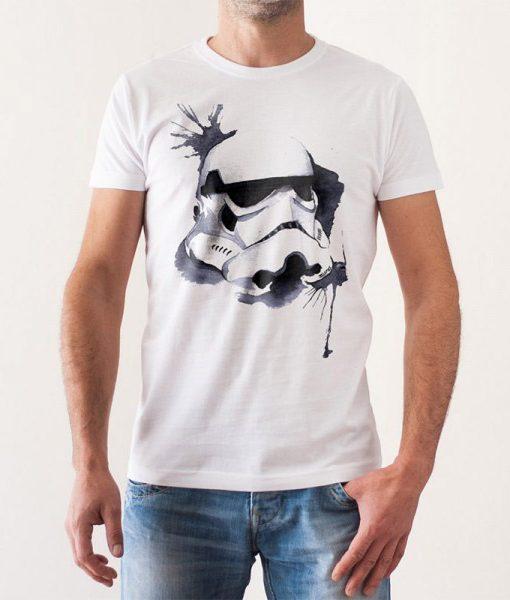 Camiseta Stormtrooper Acuarelas