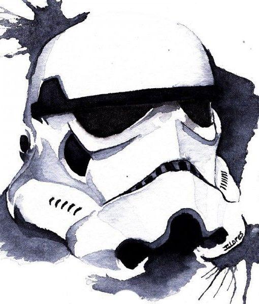 Stormtrooper Acuarelas