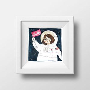 Conquistaremos Planetas Ilustración | La Chica Imperdible