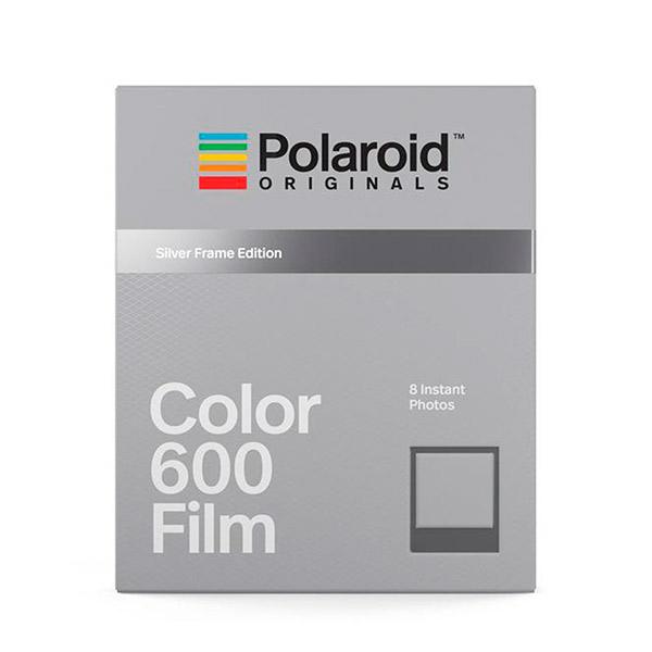 Polaroid Originals   Película Color 600 Marco Plata Silver Frame ... ec33c59d64