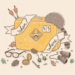 Tote Bag When and Where | Moonrise Kingdom