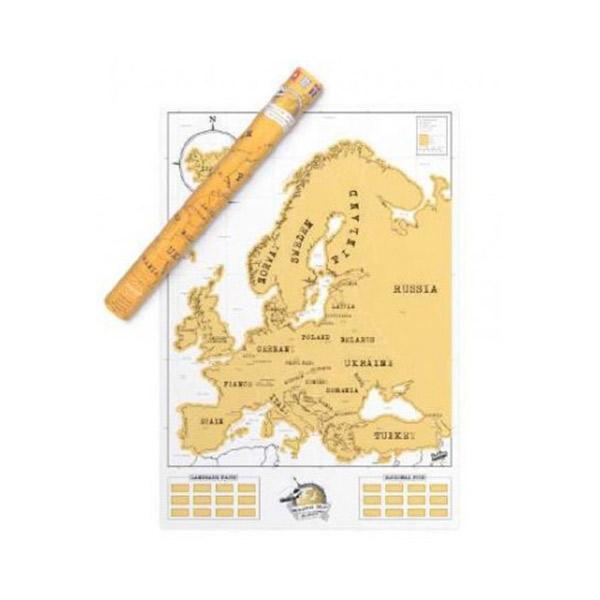 Mapa De Europa para rascar Scratchmap
