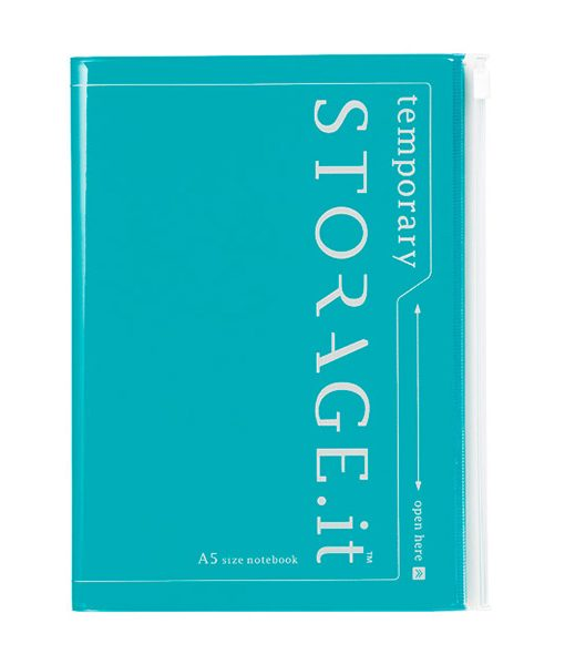 Cuaderno Storage It Turquesa A5