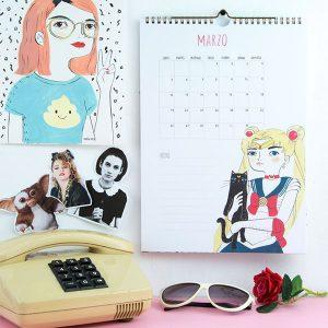 Calendario de Pared 2018 María Hesse
