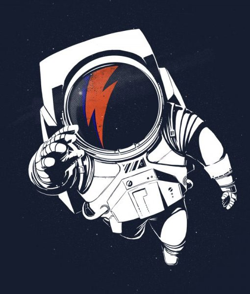 Camiseta Stardust David Bowie Hombre