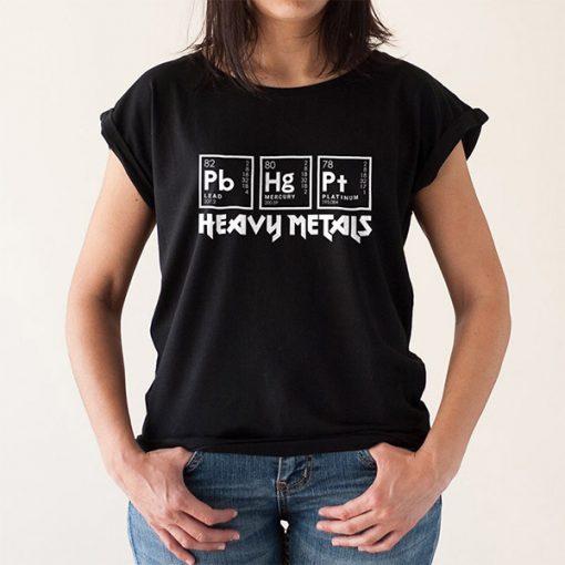 Camiseta Heavy Metals Mujer