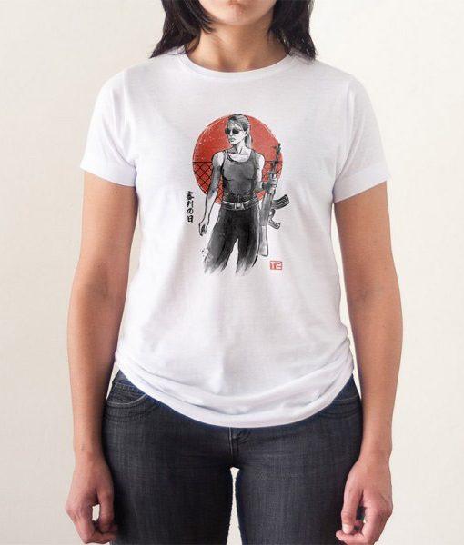 Camiseta Sarah Connor Terminator 2