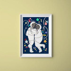 Cosmic Love Ilustración