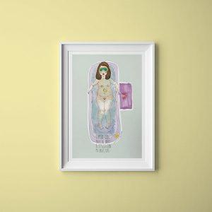 Me Resbala Ilustración | La Chica Imperdible