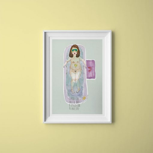 Me Resbala Ilustración   La Chica Imperdible