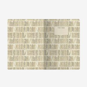 Cuaderno Booklover PAPEL FSC | Material Revolution | Granada