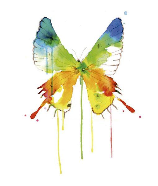 Tatuaje Butterfly de Conrad Roset
