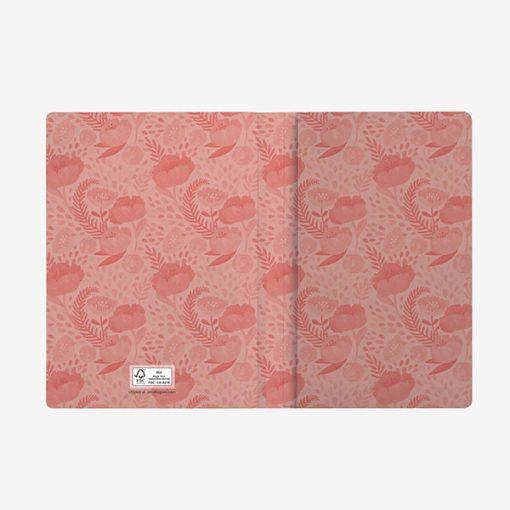 Cuaderno Flowers PAPEL FSC