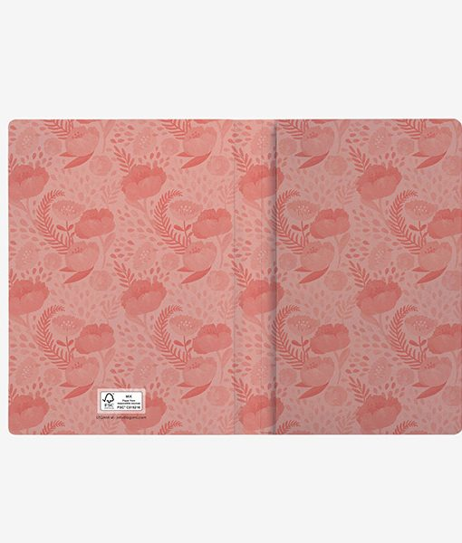 Cuaderno Flowers PAPEL FSC