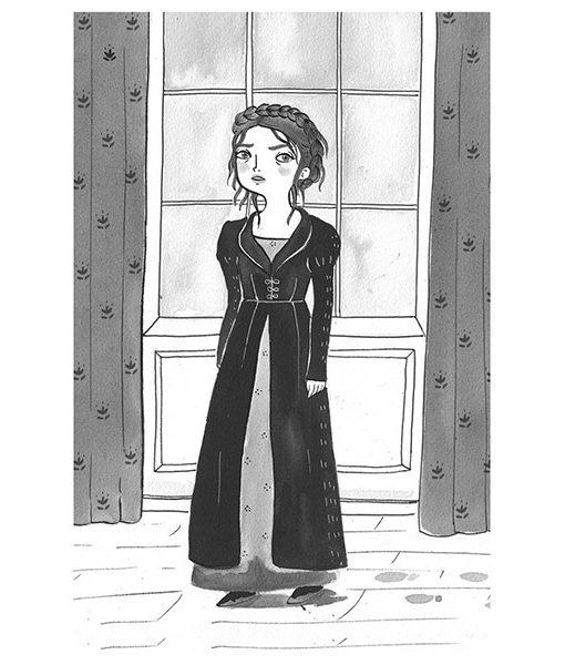 Orgullo y prejuicio ilustrado por maria hesse