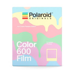 Película Color 600 Ice Cream Pastels Edition para Polaroid