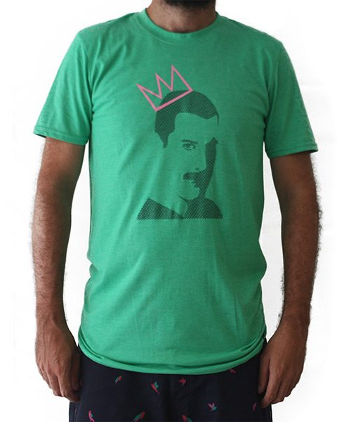 Camiseta Freddie Mercury Queen