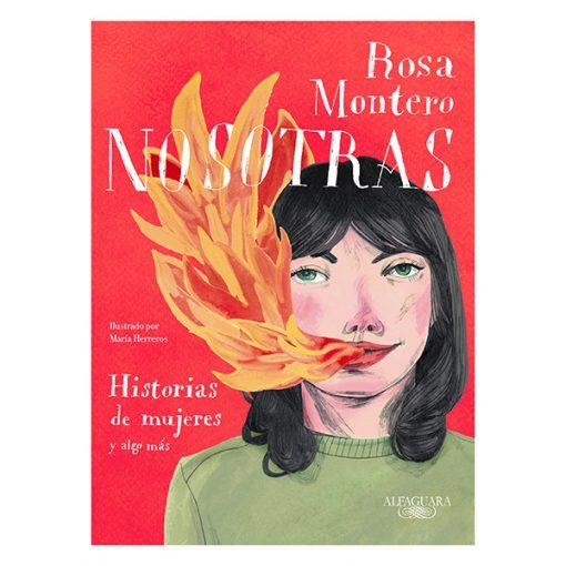 Nosotras Rosa Montero y María Herreros