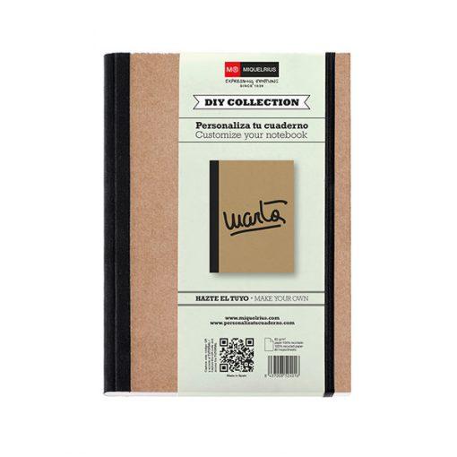 Cuaderno Reciclado DIY A5