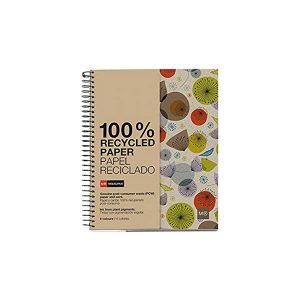 Cuaderno Ecobirds Grande PAPEL RECICLADO