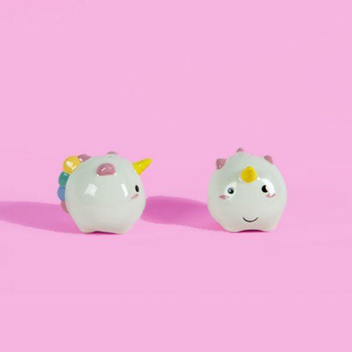 Set Sal y Pimienta Unicornio kawaii