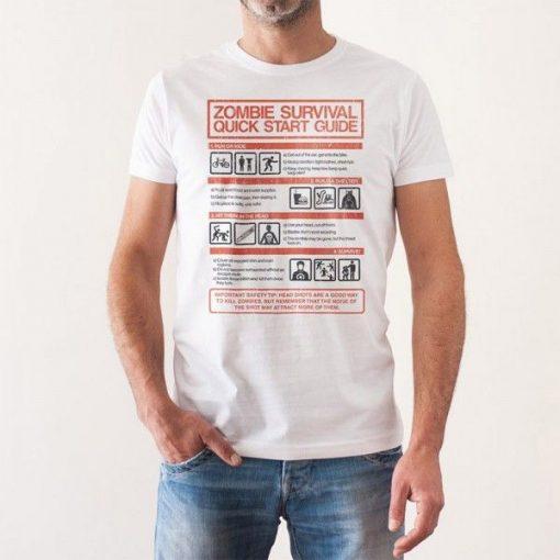 Camiseta Guía de Supervivencia Zombie The Walking Dead