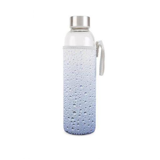 Botella de Cristal Agua con funda