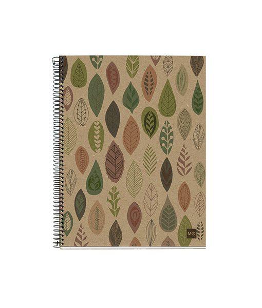 Cuaderno reciclado Ecohojas MiquelRius