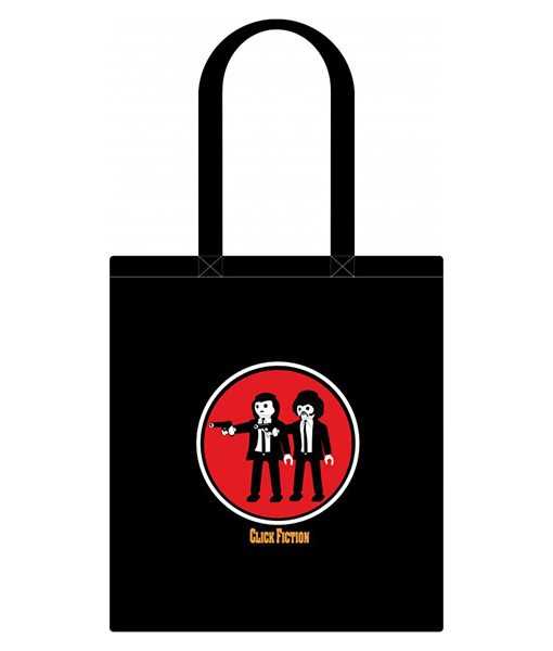 Tote Bag Click Fiction