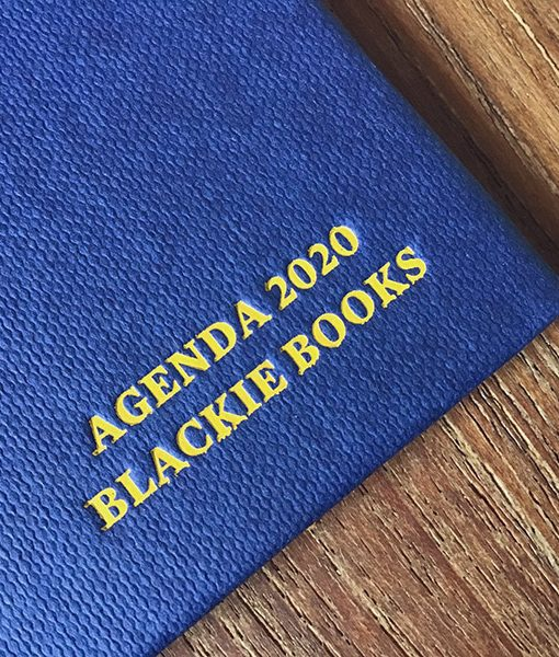 Agenda Blackie Books 2020