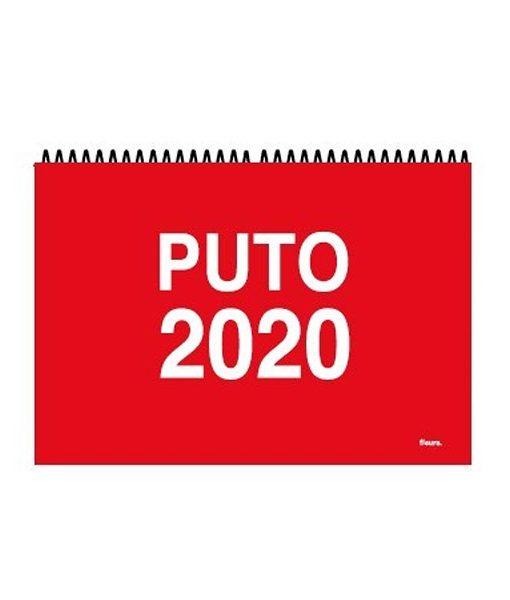 Calendario Puto 2020 de Pared