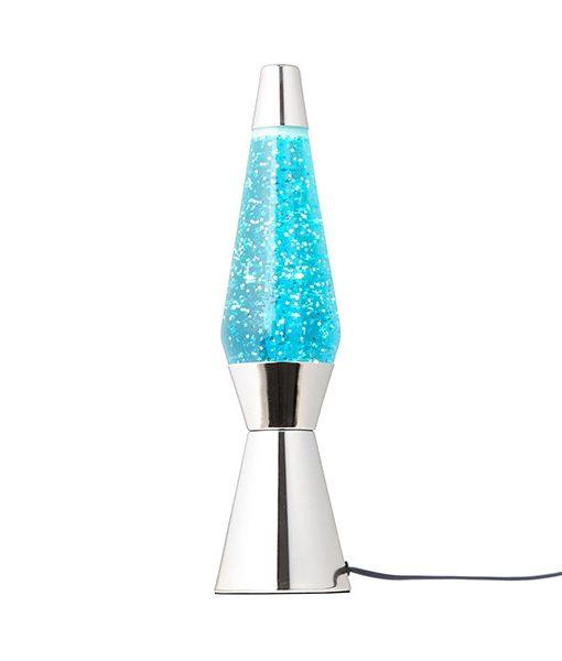 Lámpara de Lava Azul Estrellas Bullet